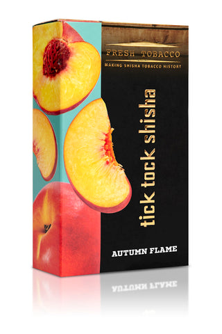 AUTUMN FLAME-Peach - Tick Tock Shisha USA