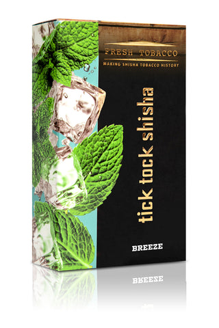 BREEZE-Ice Mint - Tick Tock Shisha USA