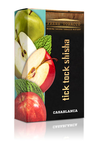 CASABLANCA-Double Apple Mint - Tick Tock Shisha USA