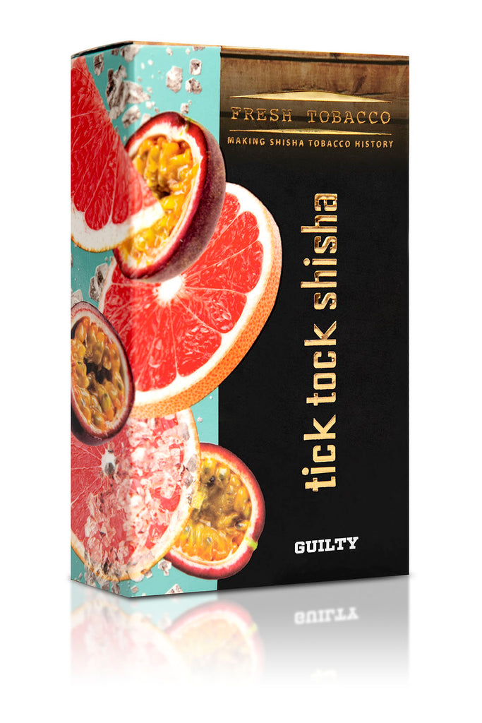 GUILTY-Maracuja Ice Grapefruit - Tick Tock Shisha USA