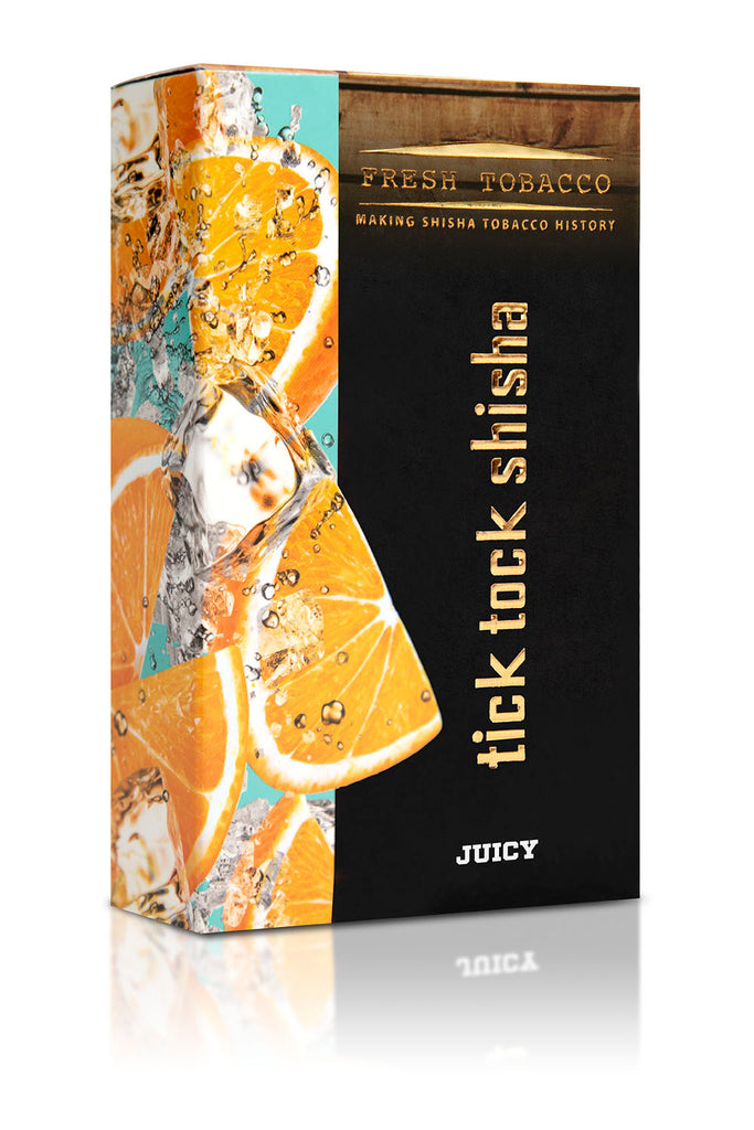 JUICY-Ice Orange - Tick Tock Shisha USA