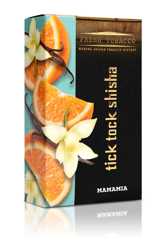 MAMAMIA-Orange Vanilla - Tick Tock Shisha USA