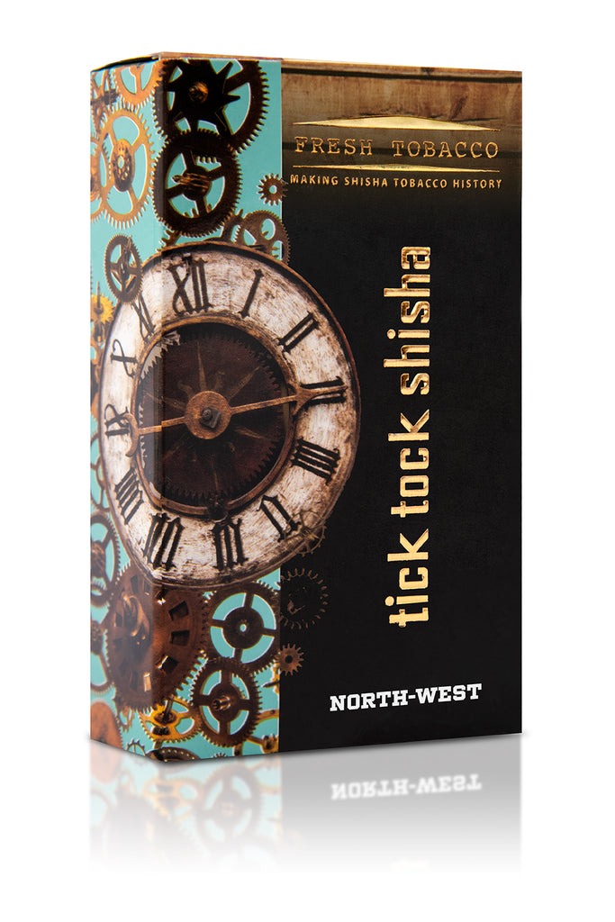 NORTH WEST-Chocolate Grape Berry - Tick Tock Shisha USA