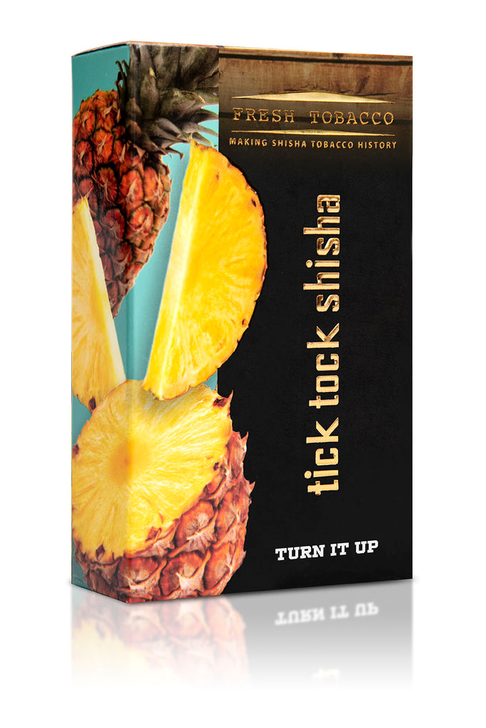 TURN IT UP-Pineapple - Tick Tock Shisha USA