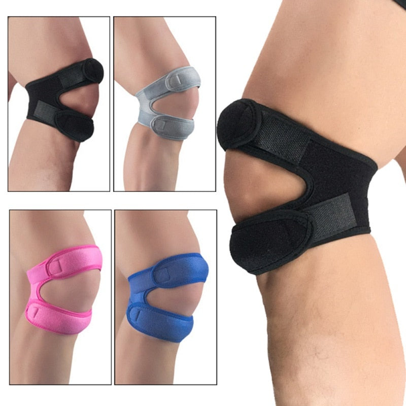 Knee Band for Fitness Sport Support - One size Fits All - Patella Stabilizer