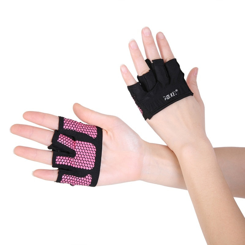 AOLIKES Anti-skid Men & Women Gym Breathable Gloves for Crossfit