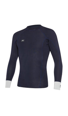 WETSUIT HOMBRE - JACKET - DEFENDER LS CREW REVO 1MM - FQ3 ABYSS/COOLGRY - VERANO 2020