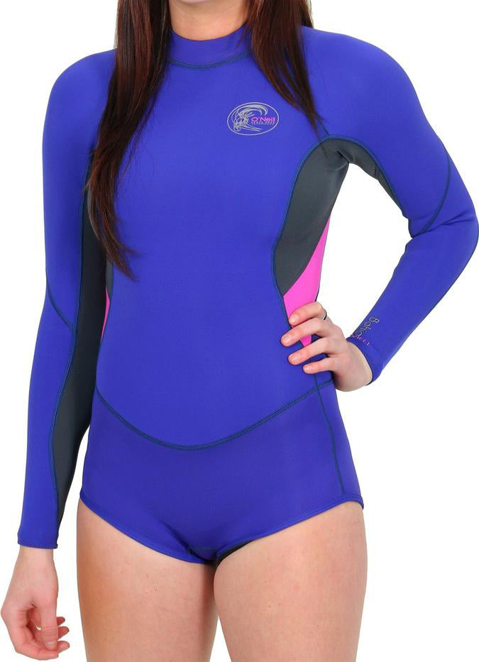 WETSUIT MUJER - BAHIA - WMS L/S 2 MM - COBALTO - VERANO 2019