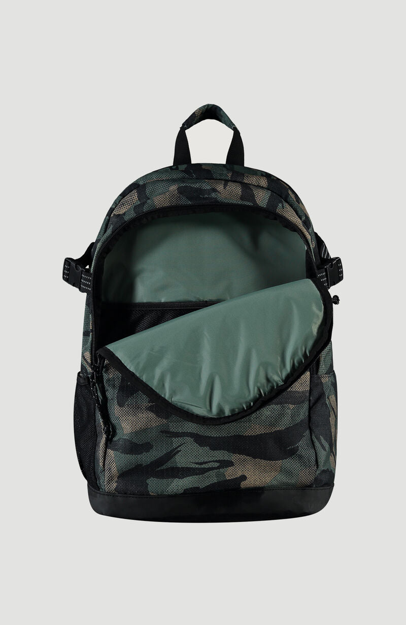 MOCHILA - BM EASY RIDER BACKPACK  30L - GREEN AOP - INVIERNO 2020