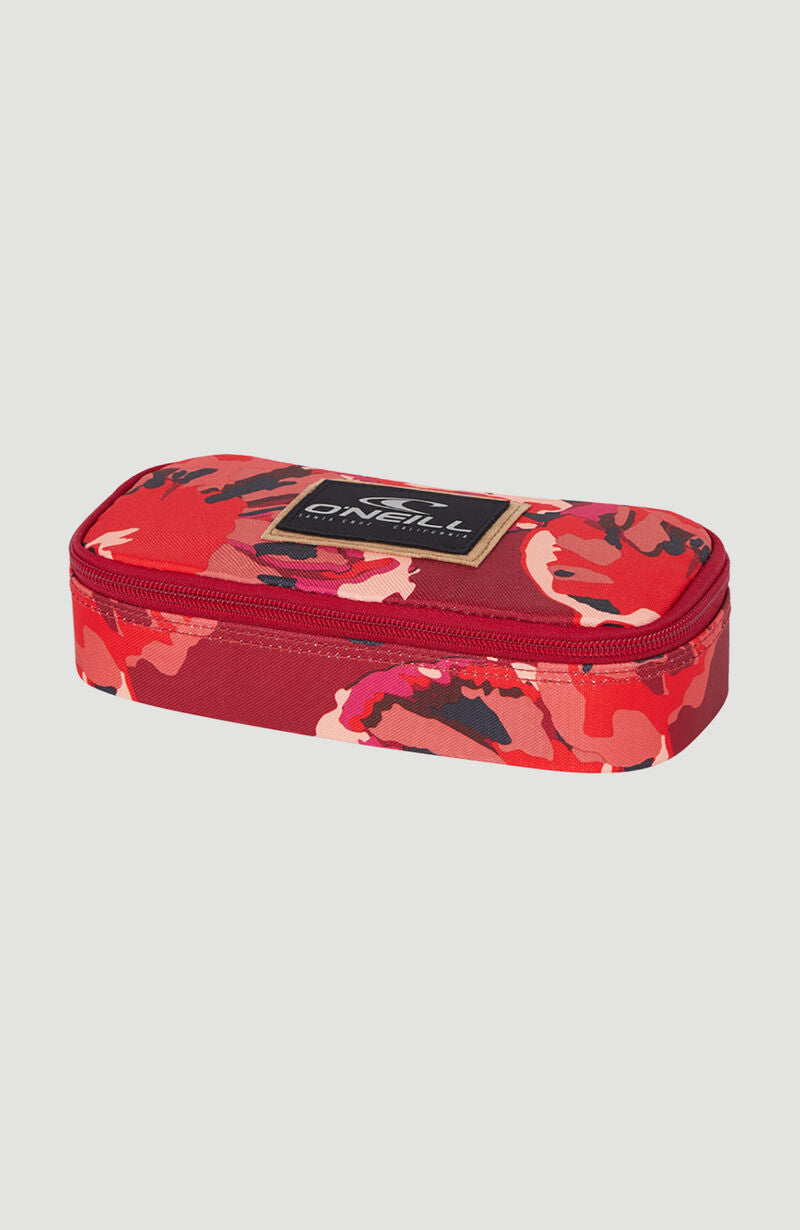 CARTUCHERA  - BM BOX PENCILCASE - RED AOP - INVIERNO 2020