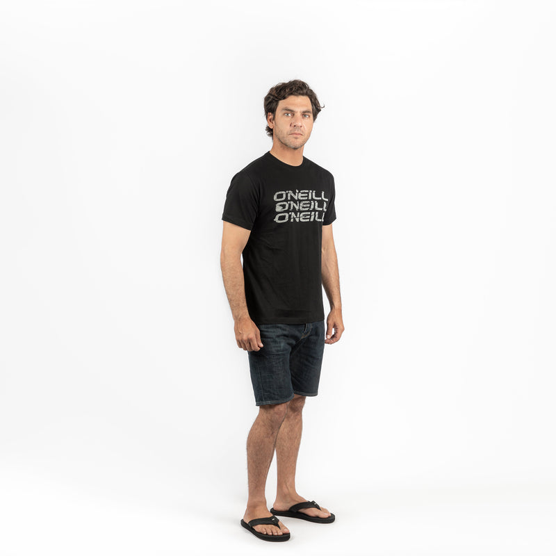POLO M/C - LM TRIPLE O'NEILL T-SHIRT - BLACK OUT - VERANO 2020