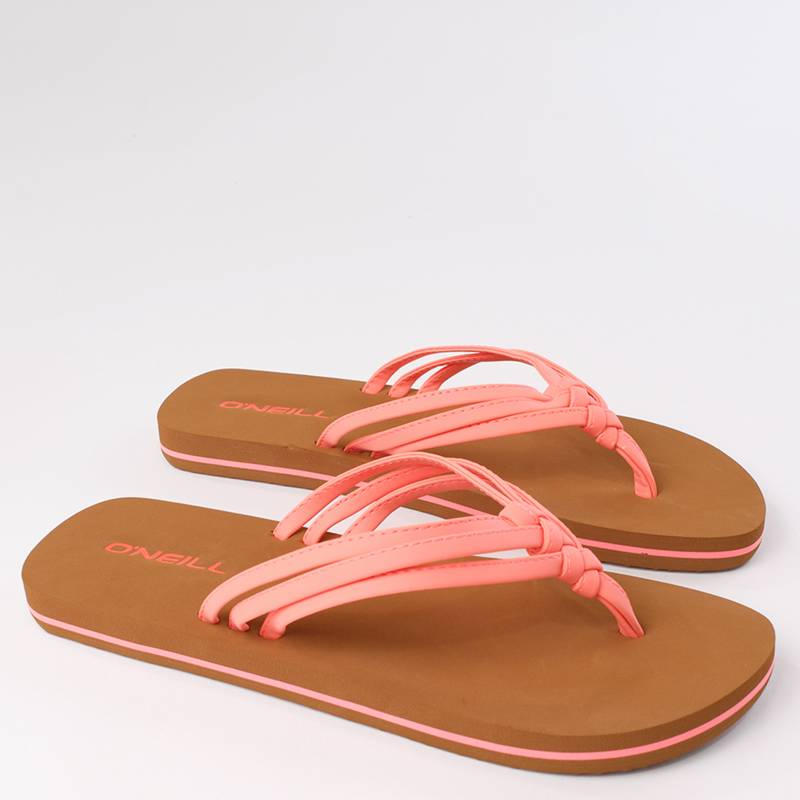 WOMAN´S SANDAL  - ORANGE - VERANO 2020