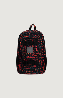 MOCHILA - BM BOARDER BACKPACK - RED W/BLACK - VERANO 2020