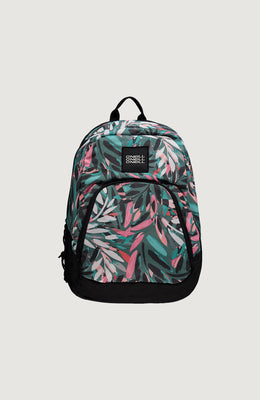 MOCHILA -BM WEDGE  BACKPACK - GREEN/WHITE 30L - INVIERNO 2020