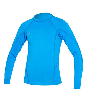 WETSUIT NIÑO - JACKET - YOUTH REACTOR II 1.5MM LS CREW - FX2 OCEAN/OCEAN/OCEAN - VERANO 2020