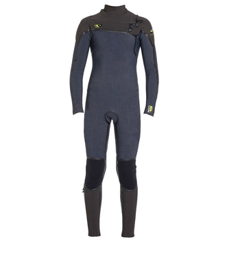 WETSUIT NIÑO - LARGO - YOUTH PSYCHO 1 FUZE 3/2MM  - GX9 ACIDWASH/RAVEN/RAVEN - INVIERNO 2020