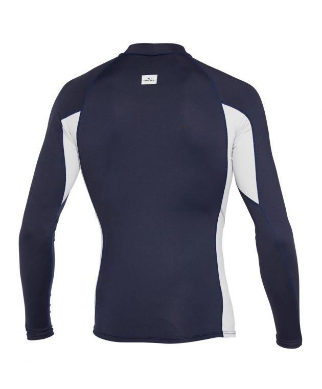 LYCRA - HOMBRE - SKINS LS CREW - FY2 ABYSS/CGREY/ABYSS - VERANO 2020