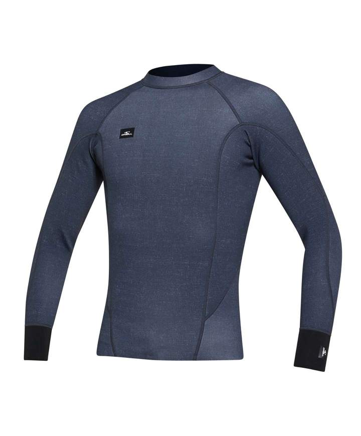 WETSUIT HOMBRE - JACKET - DEFENDER LS CREW REVO 1MM - AZ3 ACIDWASH/BLACK - VERANO 2021