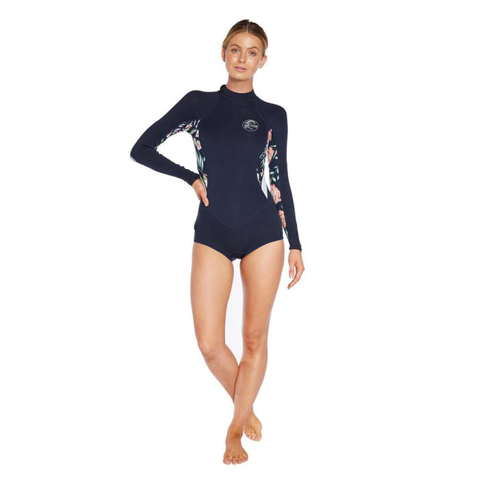 WETSUIT MUJER - BAHIA 2MM LS MID SPRING - LH9 ABY/DFL/GDWN/ABY- VERANO 2020