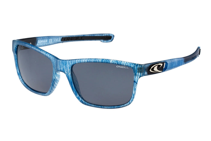 LENTE SOLAR - MATTE BLUE PATTERN / SOLID SMOKE  POLARISED - VERANO 2019