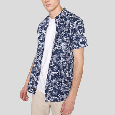 CAMISA M/C - HAWAII BLACK - VERANO 2020
