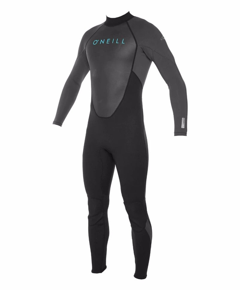 WETSUIT HOMBRE - LARGO -REACTOR II BZ FULL 3/2MM - B82 BLK/GRAPH - INVIERNO 2021
