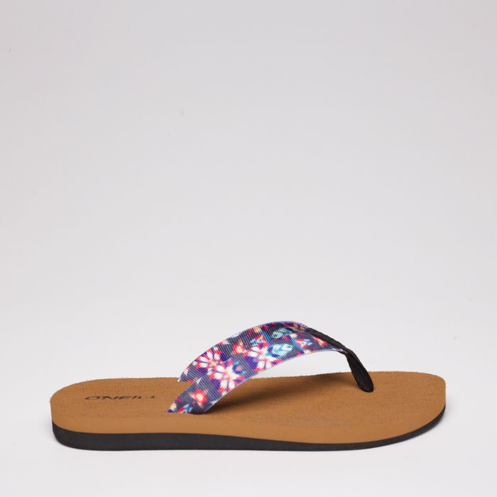 FLIP FLOP WOMAN - BLACK/FUSCHIA - VERANO 2020
