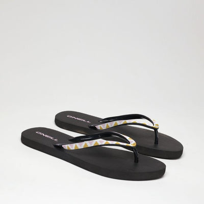 FLIP FLOP WOMAN - BLACK / GREEN - VERANO 2020