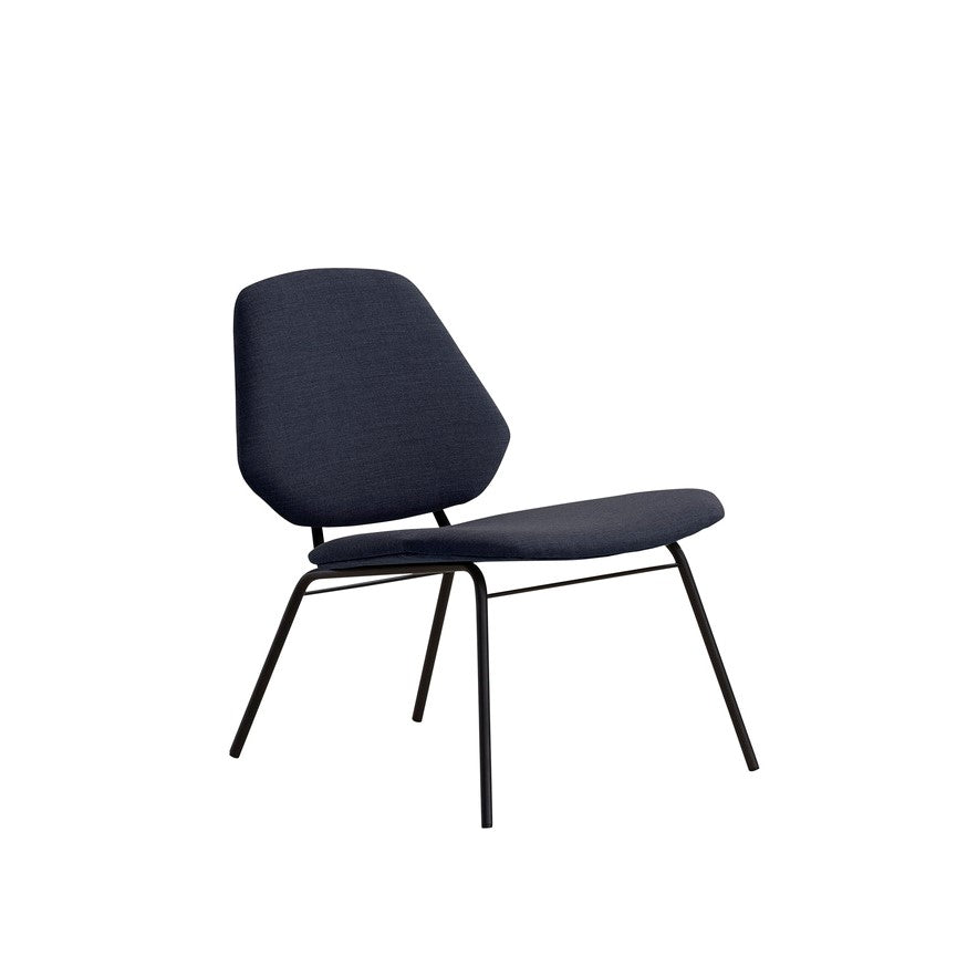 LEAN LOUNGE CHAIR, BLÅ