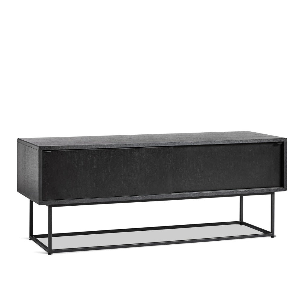 VIRKA SIDEBOARD LOW, SORT