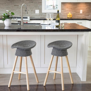 COILED COUNTER STOOL - CAZACOOL
