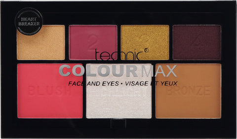 Technic Colour Max Face and Eyes Palette Heart Breaker
