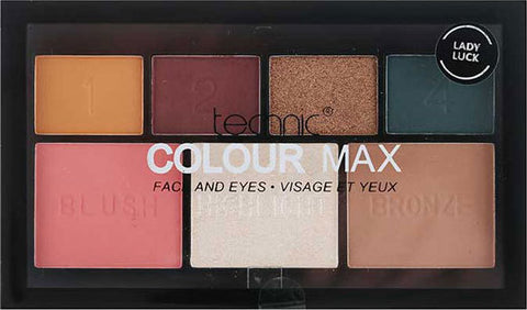 Technic Colour Max Face Eyes Palette Lady Luck - districtglitz.com