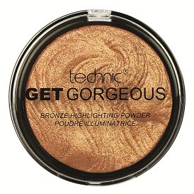 Technic Get Gorgeous Highlighter 24CT Gold - districtglitz.com