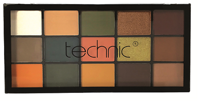 Technic 15 Eyeshadows - SHAKEN NOT STIRRED