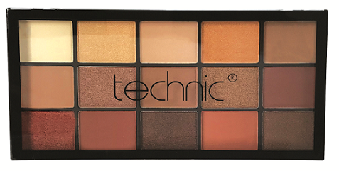Technic 15 Eyeshadows - BRONZE AND BEAUTIFUL - districtglitz.com