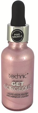 Technic Liquid Get Gorgeous - HIGHLIGHTER PINK SPARKLE - districtglitz.com