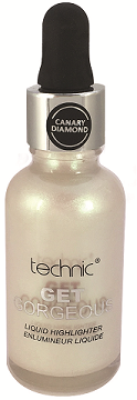 Technic Liquid Get Gorgeous - HIGHLIGHTER CANARY DIAMOND - districtglitz.com