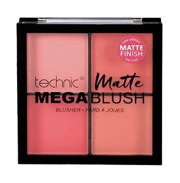 TECHNIC Mega Matte Blush Quad - districtglitz.com