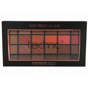 Technic 24 Eyeshadows - HEAT IS ON - districtglitz.com