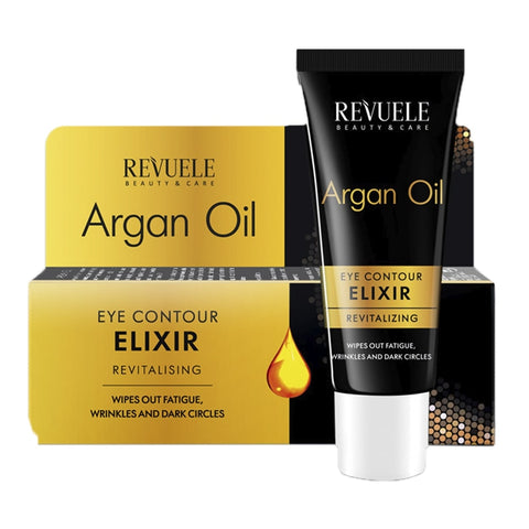REVUELE ARGAN OIL Eye Contour Elixir Revitalizing