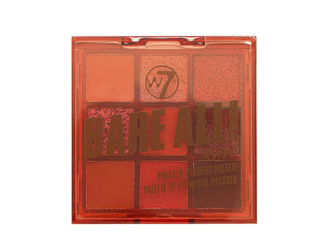W7 Bare All Pressed Pigment Palette - Raw - districtglitz.com