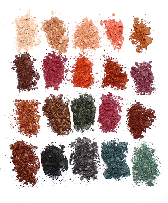 Technic 20 Eyeshadows - Be Fearless - districtglitz.com