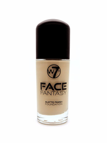 W7 Face Fantasy Matte Finish Foundation Medium Beige - districtglitz.com