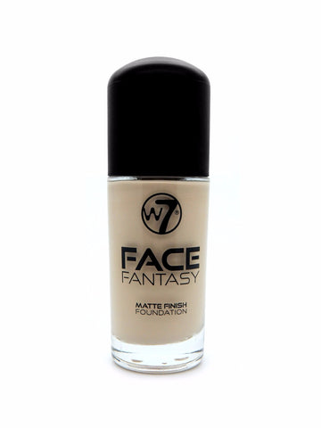 W7 Face Fantasy Matte Finish Foundation Sand - districtglitz.com
