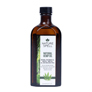 NATURE SPELL Hemp Oil for Hair & Skin
