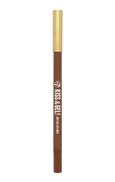 W7 Kiss & Gel! Soft Gel Lip Liner Spice - districtglitz.com