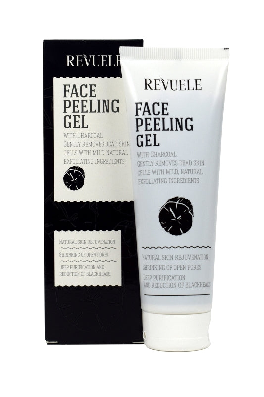 REVUELE Face Peeling Gel with Charcoal Powder - districtglitz.com