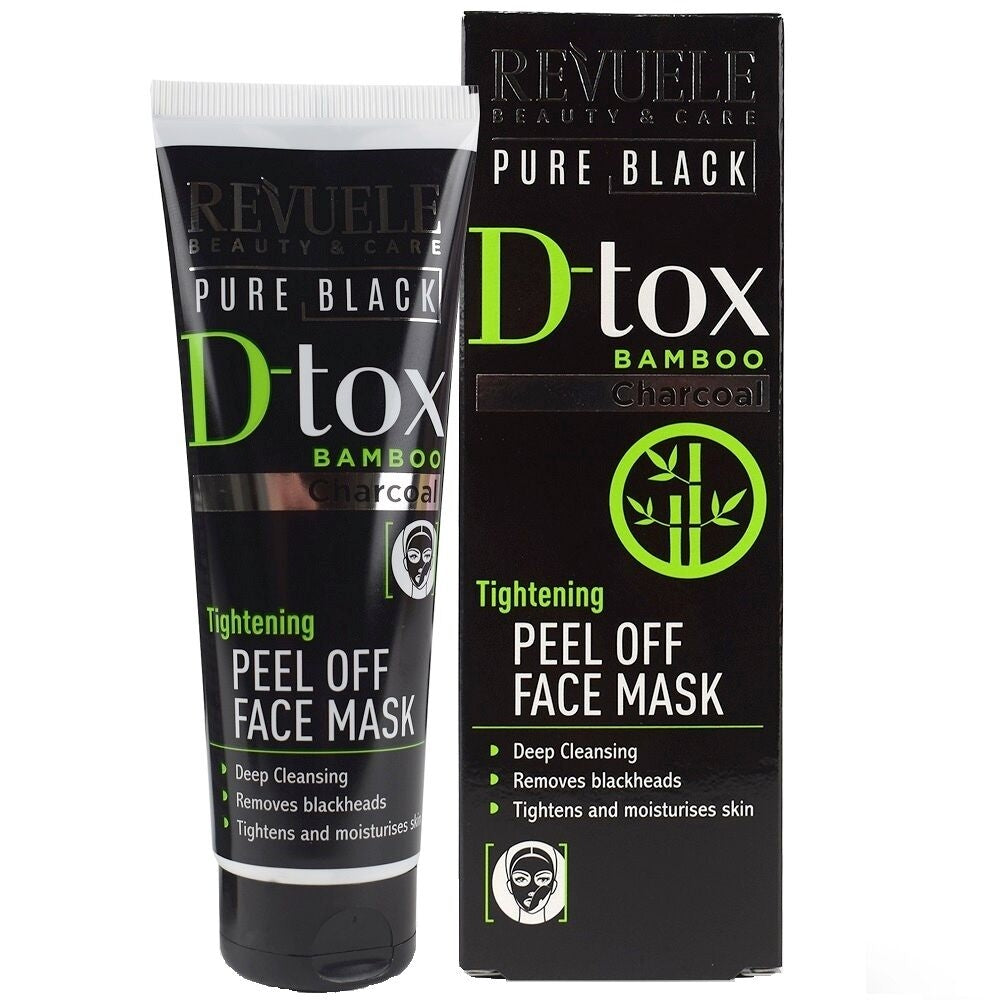 REVUELE Pure Black peel Off Mask - districtglitz.com