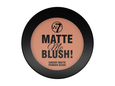 W7 Matte Me Blush Going Out - districtglitz.com